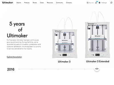 5 years of Ultimaker