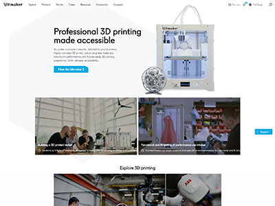 Ultimaker.com rebranding