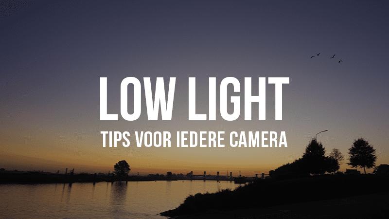 Ultieme guide voor de minste noise // low light video tips