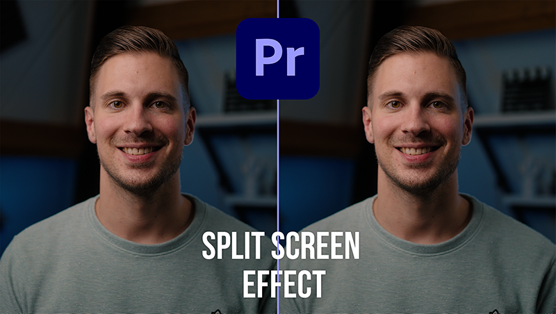 Perfect split screen effect in Premiere Pro // gratis preset!